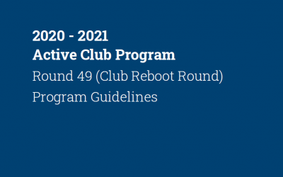 Active Club Grants 2020